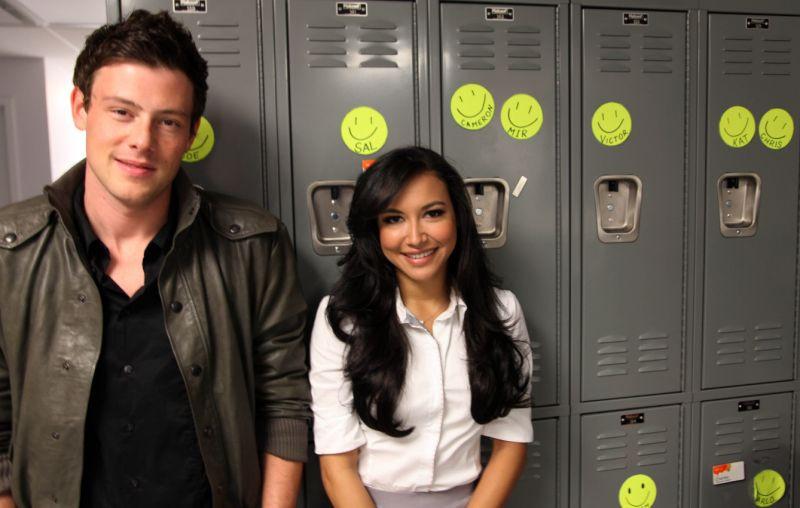 Glee цувралын жүжигчин Кори Монтейт болон Ная Ривера нар