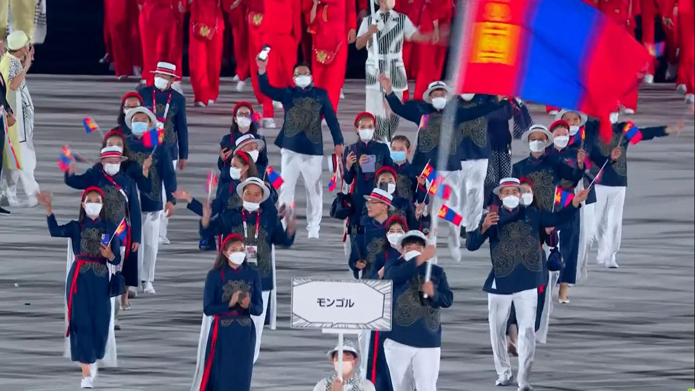 ФОТО: Токио-2020 олимпод оролцож буй баг тамирчид
