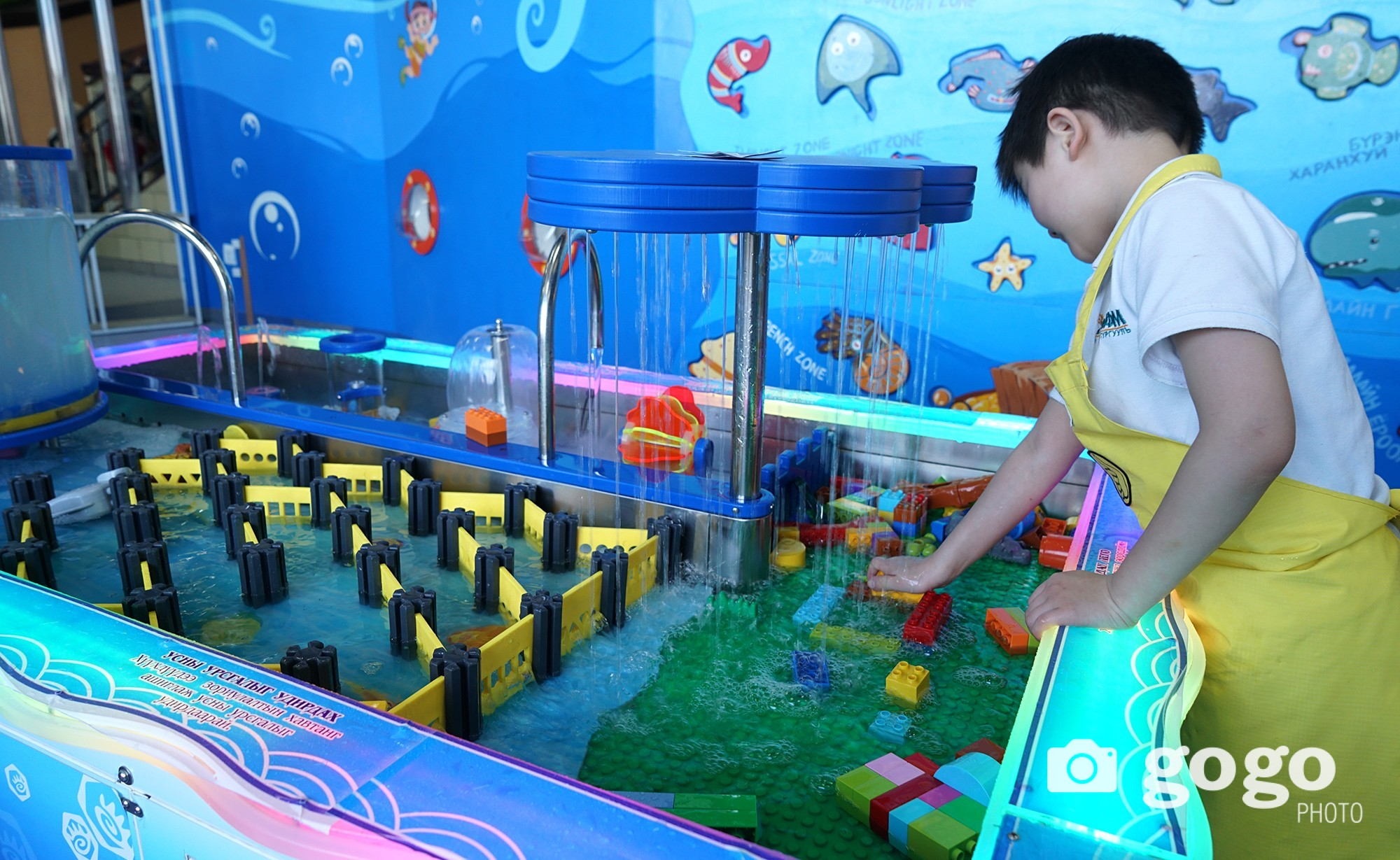 Children like to play with water. Here, they can play as long as they want by also learning to save water. Also, this section is built for making experiments using water flow and pressure.