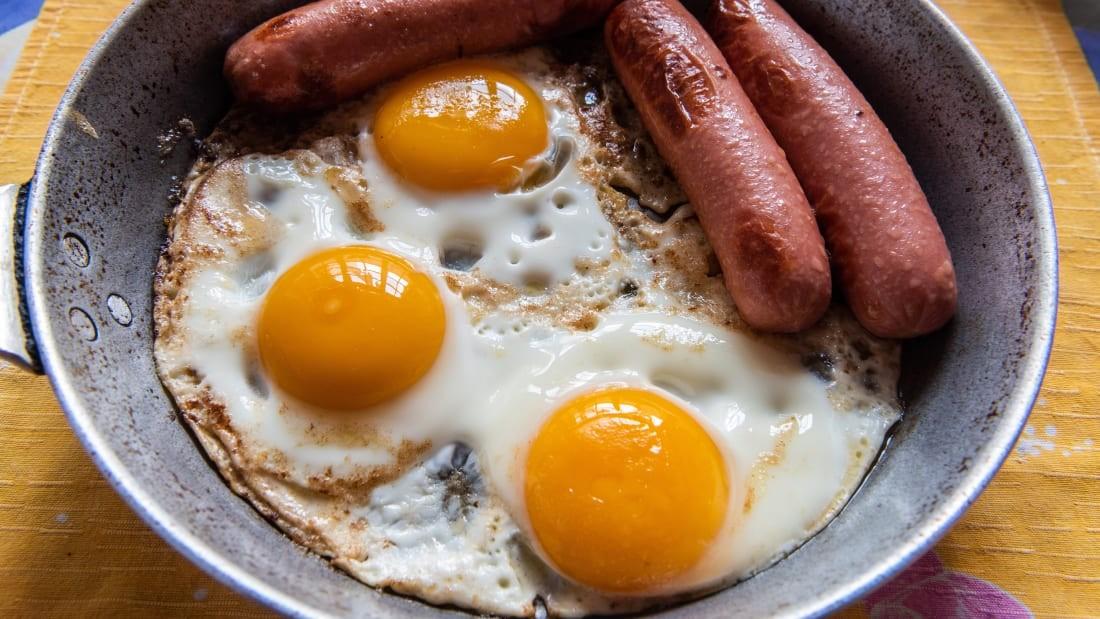 ГЕРМАН: Шарсан өндөг, зайдас