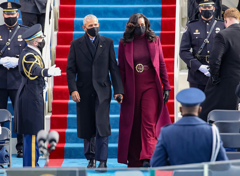 Барак, Мишель Обама нар