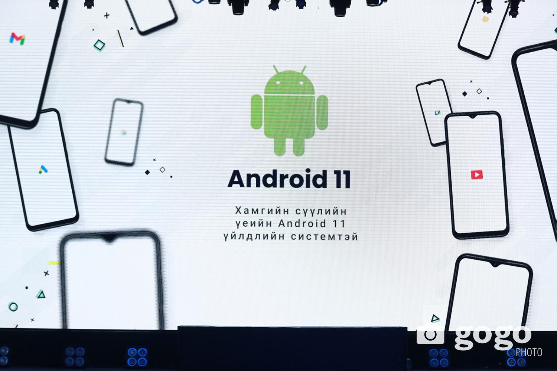 Хамгийн сүүлийн үеийн Android11 үйлдлийн системтэй. Google Mobile Services -ээс албан ёсны лицензээ авч, анх удаа андроид бүтээгдэхүүний жагсаалтад албан ёсоор орсон.
