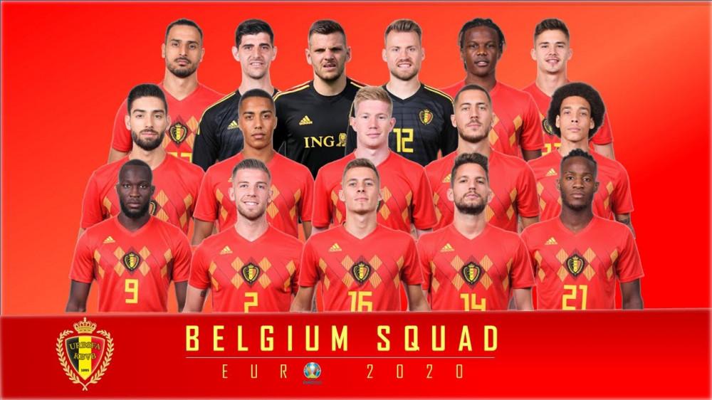 ЕВРО-2020: Бельги улсын шигшээ баг
