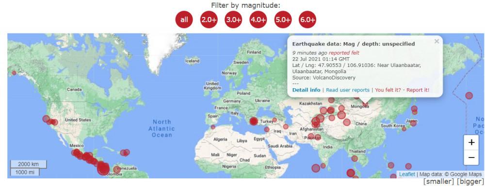 Сэлэнгэ аймагт болсон 5,2 магнитудын газар хөдлөлт Улаанбаатарт мэдрэгдлээ