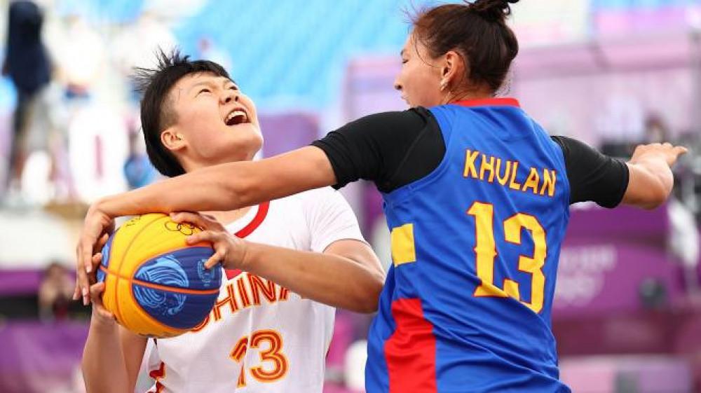 3х3 сагсан бөмбөгийн баг Хятадад 21-9 харьцаагаар хожигдлоо