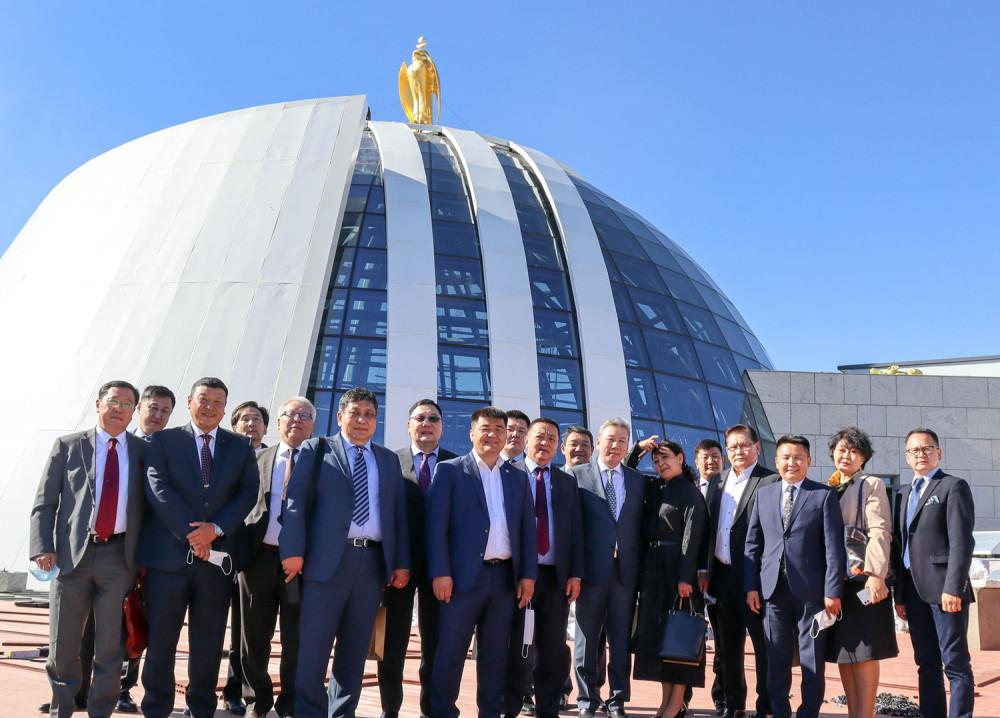 """Шинээр томилогдсон Элчин сайдууд """"Чингис хаан"""" музейн бүтээн байгуулалттай танилцлаа"""