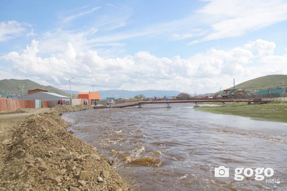 Гол мөрний усны түвшин улам нэмэгдэх тул үер усны аюулаас сэрэмжлүүлэв
